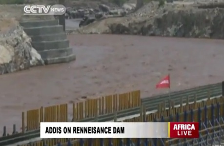 CCTV - Ethiopia Continues Dam Construction Amid Tension with Egypt