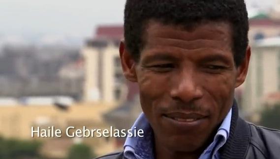 Haile Gebrselassie, Keninisa Bekele, Meseret Defar and Tirunesh Dibab