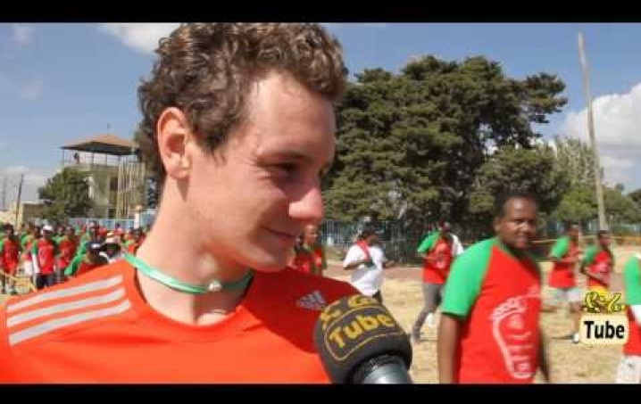 Interview Olympic winner at Great Ethiopian Run & Other Amazing Moments