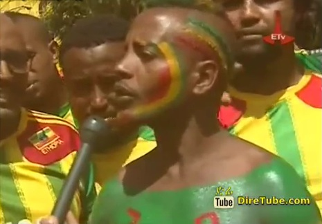 Ethiopian Football Fans @ The Stadium Victory Expectations