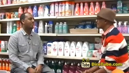 Interview with Fikir Market Plus owner's Mengesha - Part 1