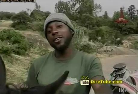 An American Citizen - Christin Adam Made His Journey Through Out Ethiopia Riding a Horse