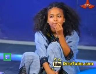 Senayit Tadsse Traditional Dance Contestant Addis Ababa