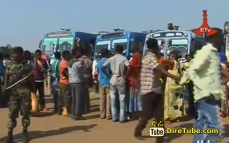 650 Ethiopians Returned back from South Sudan