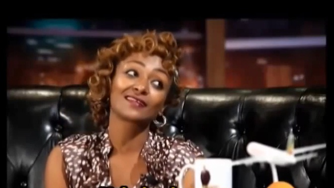 Comedian Betty Wanos Funny Interview with Seifu Fantahun