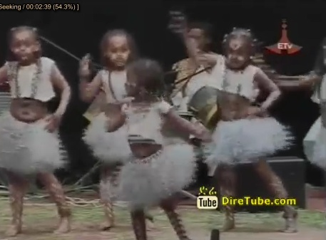 Videos we Found - Ethiopian Kids Dancing at An Event held In Edna Mall