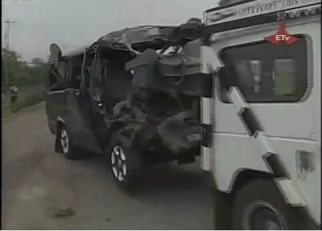 Police News - 18 died with Horrific Car Accident in Keta Town