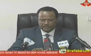 Addis Ababa to Register new house Seekers