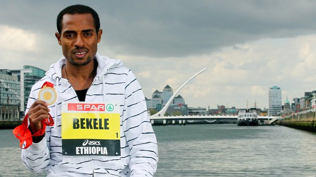 Kenenisa Bekele first win after Injury