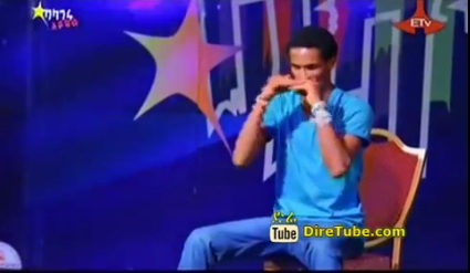 Enkuselassie Demeke Dance Contestant - 3rd Audition Addis Ababa