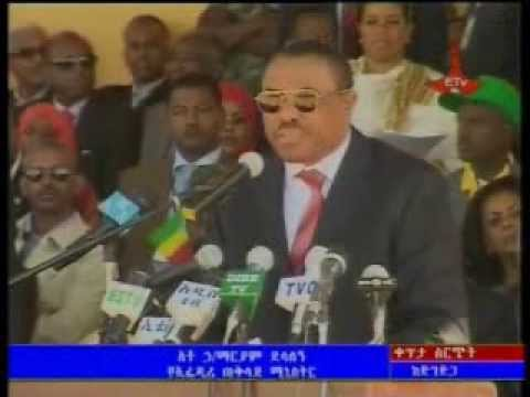 PM Hailemariam Desalegn Speech at the Nations and Nationality Day