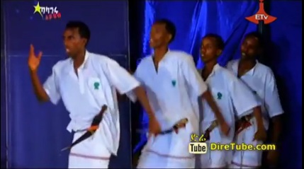 Berwako Dance Contestant Crew From Dire Dawa