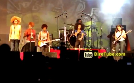 Perfroming Live at Selam Festival - All Female Rock Band