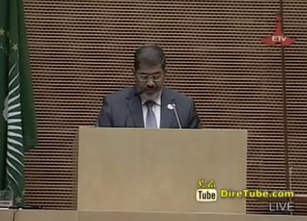 Speech by President Mohamed Morsi Arab Republic of Egypt