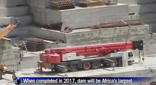 Ethiopia Progress on Grand Renaissance Dam Project