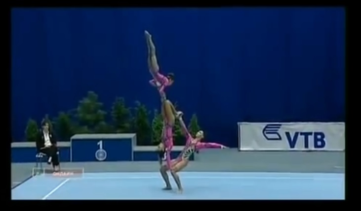Insane Russian Gymnasts Are Probably Not Human