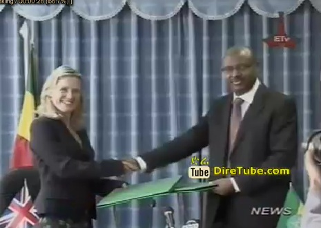 Ethiopian News - Ethiopia and Britain Sign Agreement For Grant To Support Basic Services