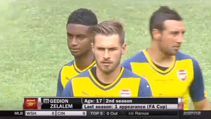 Gedion Zelalem vs New York Red Bulls ● Pre-Season 2014