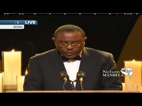 Mandela Funeral - PM Hailemariam Desalegn spoke of Nelson Mandela, Continents greatest sons