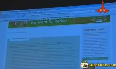 AU Launches new Website for Agenda 2063 vision