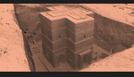 Amazing 3-D Laser Scan Of Lalibela In Ethiopia