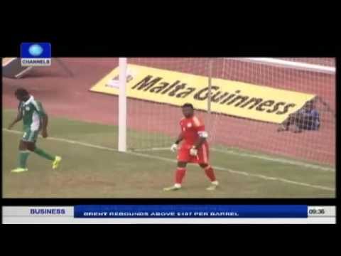 Highlights of CHAN Nigeria 2-1 Win Over Ethiopia