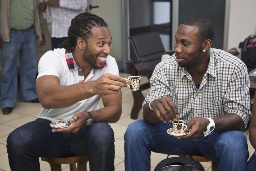 Larry Fitzgerald and Anquan Boldin Fundraise for Ethiopia