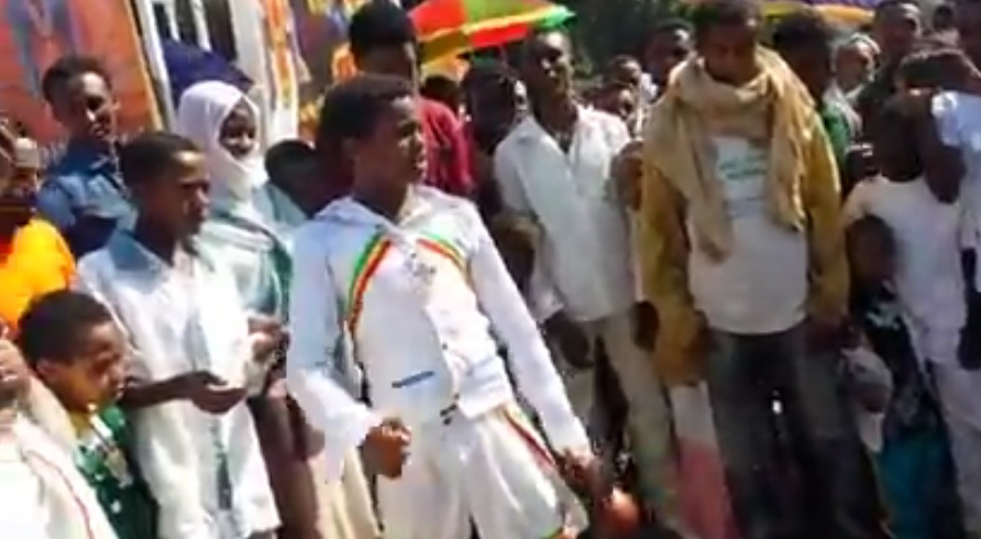 Patriotic Act of Belay Zeleke in Gondar
