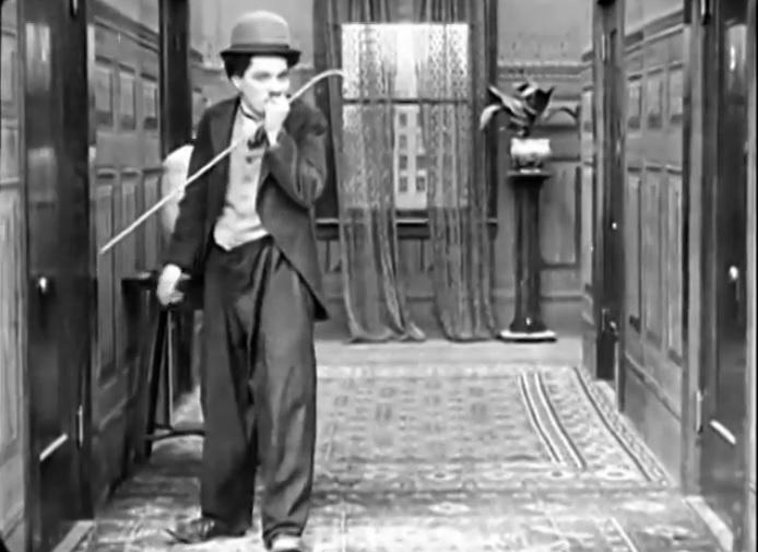 1915 - Charlie Chaplin - A Crazy Silent Comedy Film - A Big Night-Full Movie