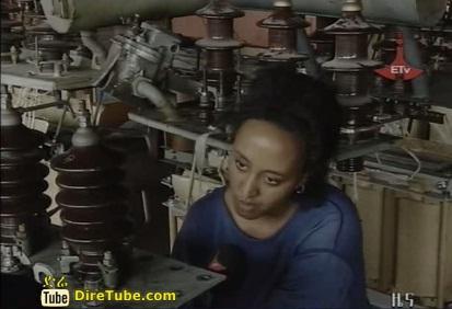 Ethiopian News - Metal Engineering Corporation Fabricating Electric Power Transformer in Ethiopia