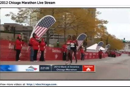 Ethiopian Sport - Chicago Marathon Highlights Final Moments of women's finish