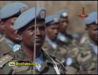 Ethiopian Troops in Abyei Celebrates Ginbot 20