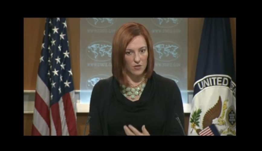 Spokesperson Jen Psaki Responds to the Incident on the Embassy