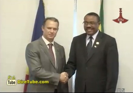 Deputy PM Hailemariam Desalegn Meet President Mohammed Morsi and Other heads of State