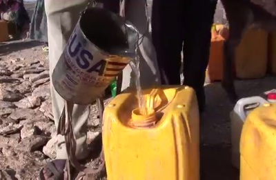 Water Collection in Ethiopia