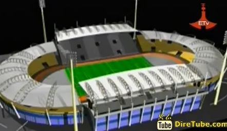40,000 seat Modern Stadium under Construction in Ethiopia [Hawassa]