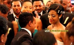 Tsegaye Eshetu Sings at Teddy Afro Wedding - HD