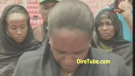 Derartu Tulu, Gete Wami, Meseret and Other Athletes Reaction PM Meles Death