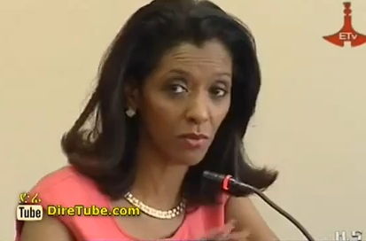 Zeinab Badawi's Visit to Ethiopian Radio and Television Agency