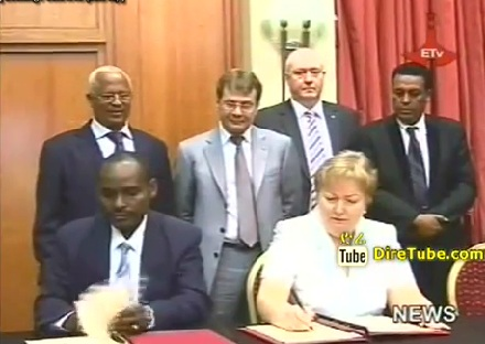Ethiopia-Russia signed Custom agreement