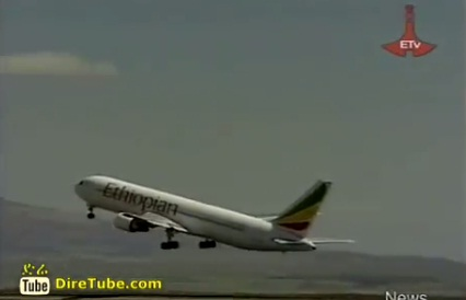 Number of air-crafts flying over Ethiopian airspace, using airports reaches over 115,000