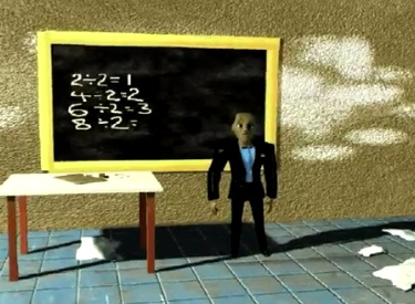 Answering 8/2 Maths Equation - Animation