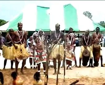 Amazing Namibian Dance [Kavango Region]