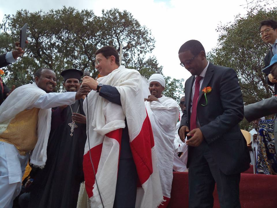 The World Should Learn to Live in Unity and Harmony from Ethiopians - Dr.Taleb Rifai