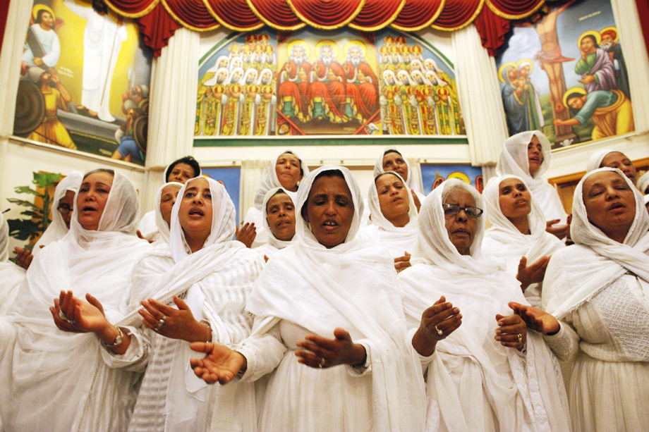 Ethiopian Orthodox Church celebrates Easter in Seattle