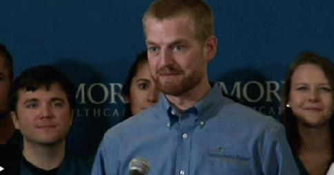 US Ebola patient Kent Brantly 'thrilled to be alive'