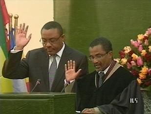 Hailemariam Prime Minister of Ethiopia sworn into office