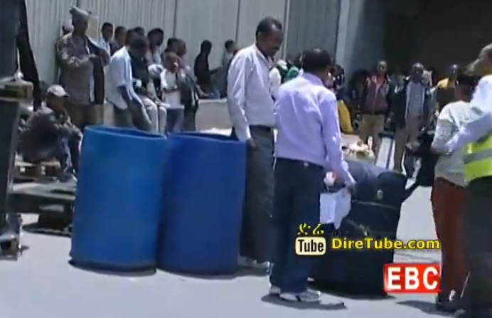 Ethiopian News - Illegal Packing from Saudi Arabia caught at Bole International Airport