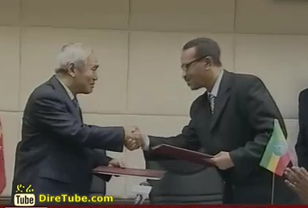 Ethiopia and China Ink a deal to Cooperate over Environment Protection