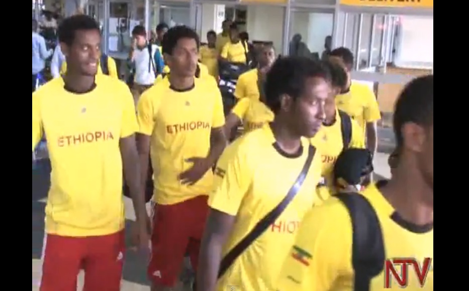 The Ethiopian Team Arrived in Uganda for a Friendly Match